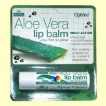 Aloe Vera Lip Balm Labios - 4 gramos - Evicro Madal Bal