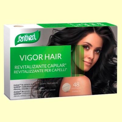 Vigor Hair Revitalizante Capilar - 48 Comprimidos - Santiveri
