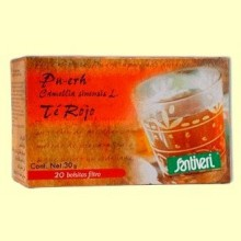 Pu Erh - Té Rojo - 20 bolsitas - Santiveri