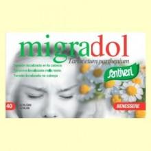Migradol - Dolor de cabeza - 40 cápsulas - Santiveri