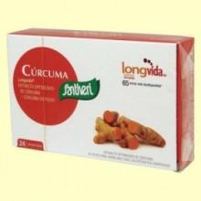 Cúrcuma Longvida - 24 comprimidos - Santiveri