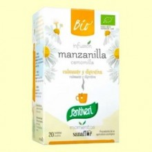 Sanaflor Infusión de Manzanilla Bio - 20 bolsitas - Santiveri