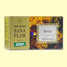 Sanaflor Infusión Boldo - 20 Bolsitas - Santiveri