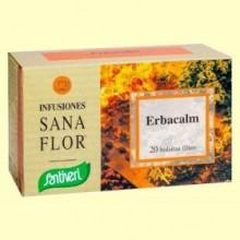Sanaflor Infusión Erbacalm - 20 bolsitas - Santiveri