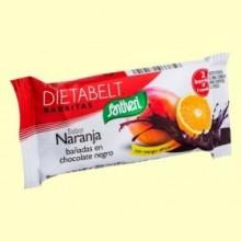 Barrita Sustitutiva Dietabelt con Mango Africano - Sabor Naranja - 35 gramos - Santiveri