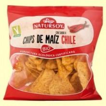 Chips de Maíz Chile Bio - 75 gramos - Natursoy