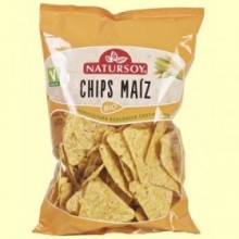Chips de Maíz Bio - 125 gramos - Natursoy