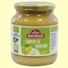 Compota de Manzana Ecológica - 370 ml - Natursoy