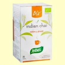 Infusion de Té Indian Chai Bio - 20 bolsitas - Santiveri