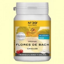 Chicles Originales Flores de Bach - Tranquilidad y Calma - 60 gramos - Lemon Pharma