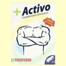 + Activo Parapharm - 4 cápsulas