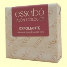 Jabón Pastilla Ecológico Exfoliante - 120 gramos - Essabó
