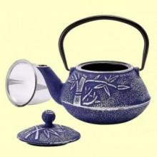 Tetera de Hierro Huan Azul - 750 ml - Cha Cult