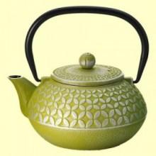 Tetera de Hierro Hao Verde - 700 ml - Cha Cult