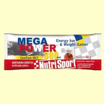 Barrita Mega Power 300 Sabor Yogur Melocotón - 12 unidades - Nutrisport