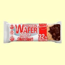 Barrita Protein Wafer Bar de Chocolate - 15 barritas - NutriSport