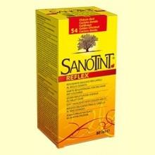 Tinte Sanotint Reflex - Castaño Dorado 54 - 80 ml - Sanotint
