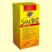 Tinte Sanotint Reflex - Castaño Claro 53 - 80 ml - Sanotint