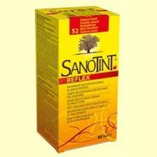 Tinte Sanotint Reflex - Castaño Oscuro 52 - 80 ml - Sanotint