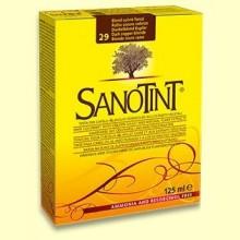 Tinte Sanotint Classic - Rubio Oscuro Cobrizo 29 - 125 ml - Sanotint