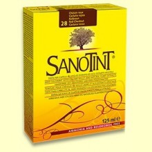 Tinte Sanotint Classic - Castaño Rojizo 28 - 125 ml - Sanotint