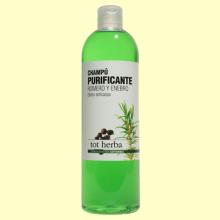 Champú Anticaspa Purificante de Romero y Enebro - 500 ml - Tot herba