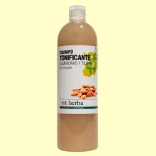 Champú Tonificante de Almendras y Tilo - 500 ml - Tot herba