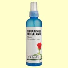 Tónico Cutáneo Hidratante de Rosas - 200 ml - Tot Herba