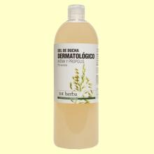 Gel de Ducha Dermatológico de Avena y Propóleo - 1 litro - Tot Herba