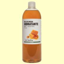 Gel de ducha Hidratante de Miel y Jalea Real - 1 litro - Tot Herba