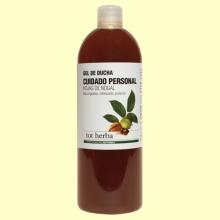 Gel de Ducha Cuidado Íntimo de Hojas de Nogal - 1 litro - Tot Herba