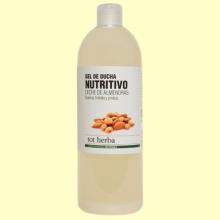 Gel de Ducha Nutritivo Leche de Almendras - 1 litro - Tot Herba