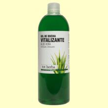 Gel de Ducha Vitalizante Aloe Vera - 1 litro - Tot Herba