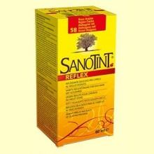 Tinte Sanotint Reflex - Rojizo Caoba 58 - 80 ml - Sanotint