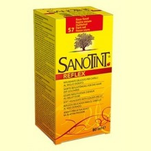 Tinte Sanotint Reflex - Rojizo Oscuro 57 - 80 ml - Sanotint