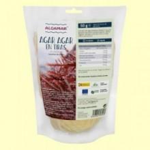 Alga Agar Agar en Tiras de Gelidium - 50 gramos - Algamar