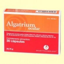 Algatrium Ocular - 30 cápsulas - Brudy Technology