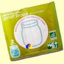 Fermento para yogur Cremoso Bio - 2x6 gramos - Nat Ali