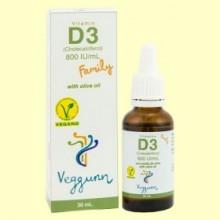 Vitamina D3 Family - 30 ml - Veggunn