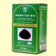 Tinte de Cabello - Castaño Claro Dorado - 135 ml - Novavis