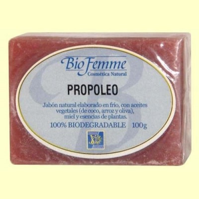 Jabón de propóleo - Bio Femme - 100 gramos - Ynsadiet