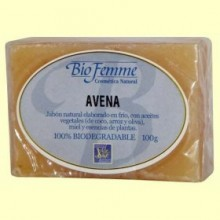 Jabón de avena - Bio Femme - 100 gramos - Ynsadiet