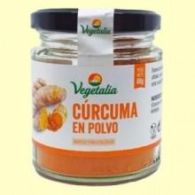 Cúrcuma en Polvo Bio - 80 gramos - Vegetalia