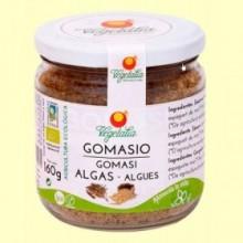 Gomasio con Algas - 160 gramos - Vegetalia