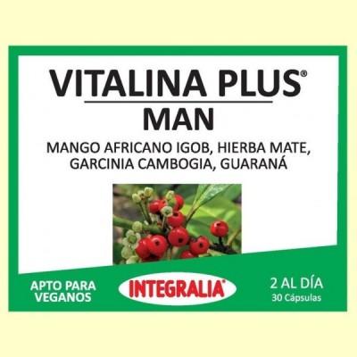 Vitalina Plus Man - 30 cápsulas - Integralia