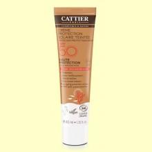Crema Protección Solar con Color SPF50 - 40 ml - Cattier