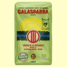 Arroz Semi Integral Calasparra Bio - 1 kg - Biocop