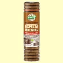 Galletas de Trigo de Espelta Chocolate y Avellanas Bio - 250 gramos - Biocop