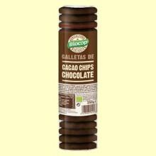 Galletas de Cacao y Chips Chocolate Bio - 250 gramos - Biocop