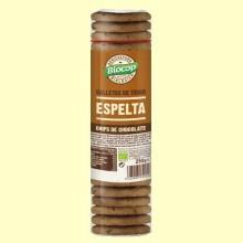 Galletas de Trigo de Espelta Chips Chocolate Bio - 250 gramos - Biocop